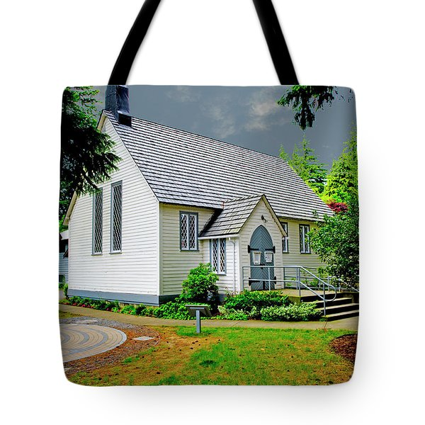 Tote Bag featuring the photograph Christ Church by Rod Wiens