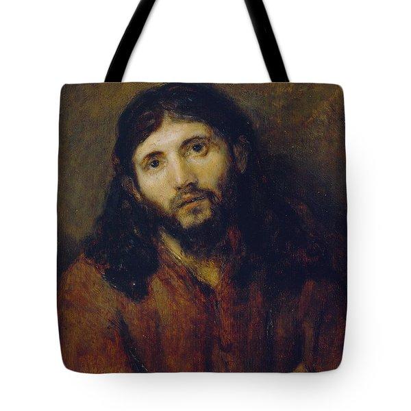 Christ Tote Bag by Rembrandt Harmensz van Rijn