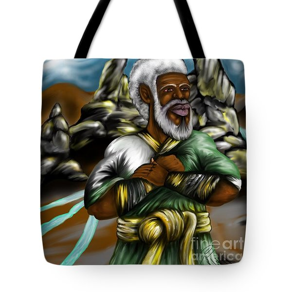 Christ The Messiah Our King Tote Bag