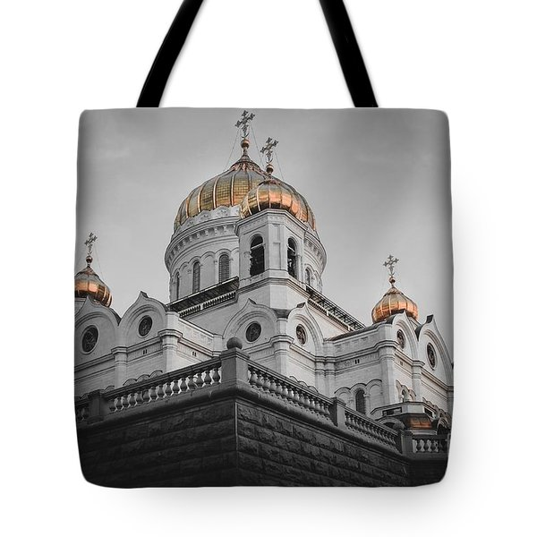 Christ The Savior Cathedral Tote Bag
