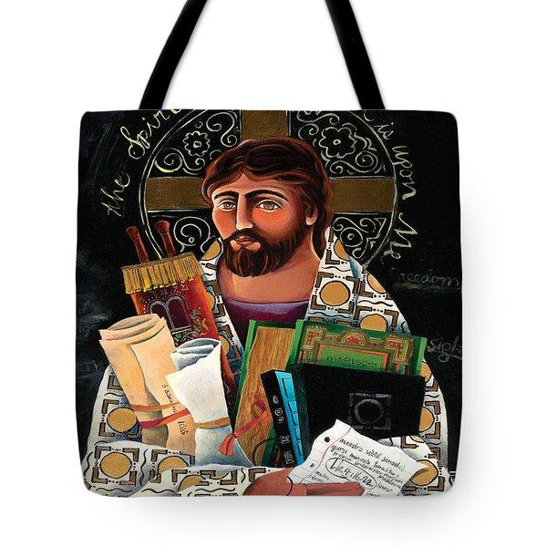 Christ The Teacher - Mmctt Tote Bag