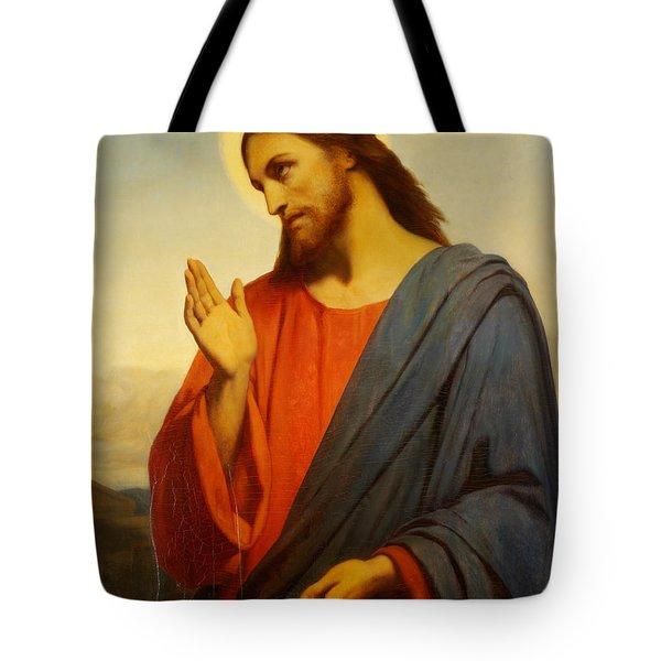 Christ Weeping Over Jerusalem Tote Bag