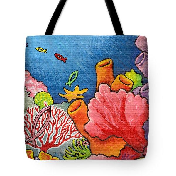 Christian School Tote Bag