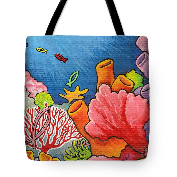 Christian School Tote Bag