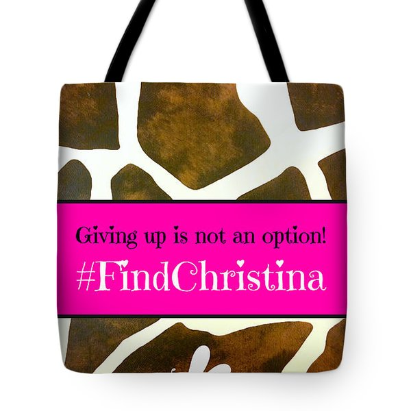 Christina Morris 001 Tote Bag