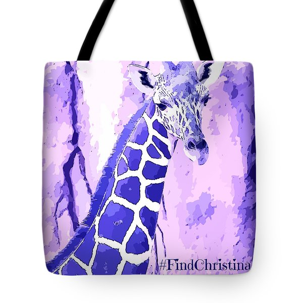 Christina's Giraffe Tote Bag