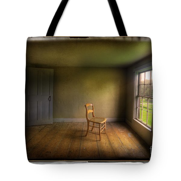 Christina's Room Tote Bag by Craig J Satterlee