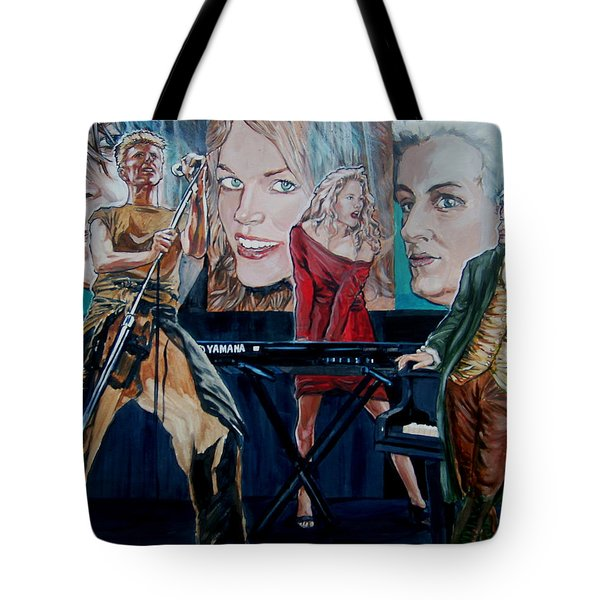 Christine Anderson Concert Fantasy Tote Bag by Bryan Bustard