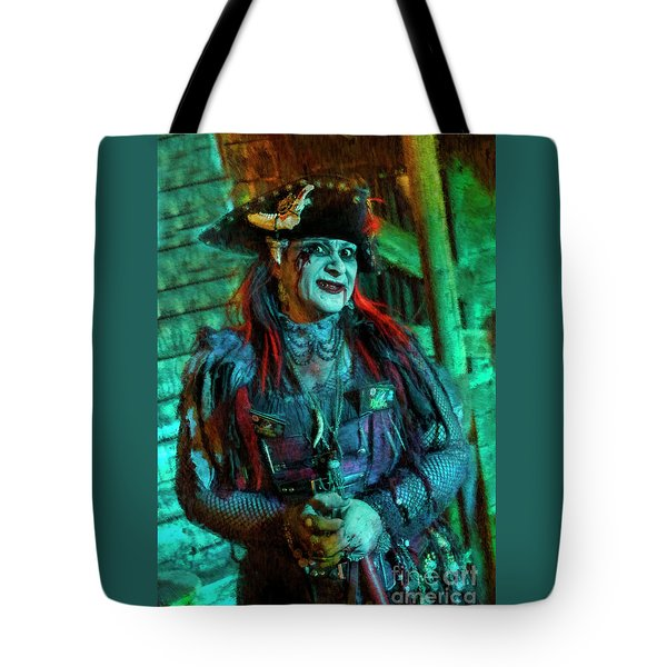 Christine Campiotti And Hunted House Tote Bag