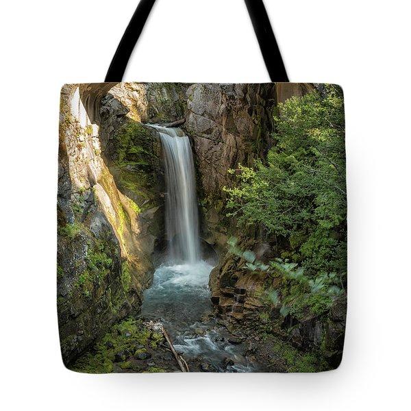 Christine Falls Tote Bag