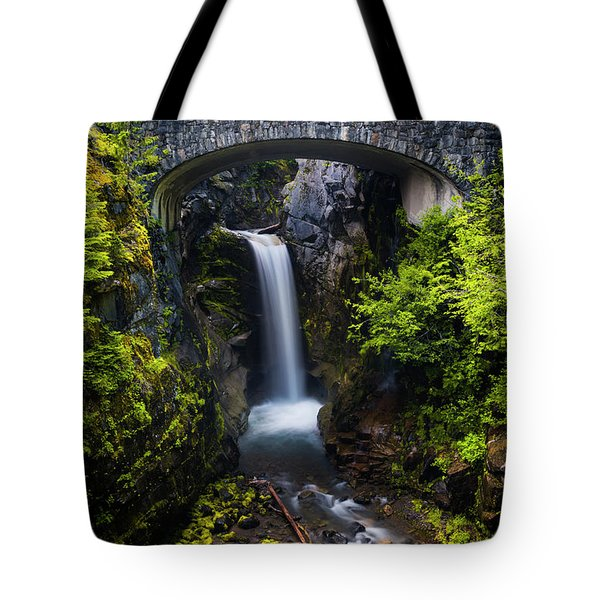Christine Falls - Mount Rainer National Park Tote Bag
