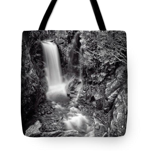 Christine Falls, Mt Rainier National Park Tote Bag
