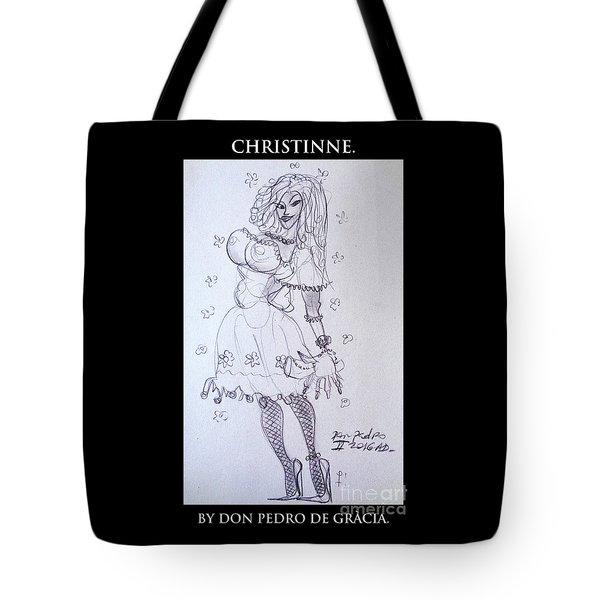Christinne Tote Bag by Don Pedro De Gracia