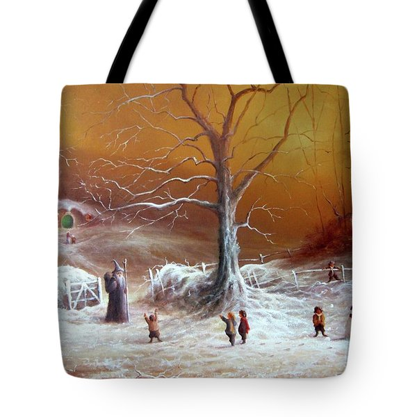 A Shire Christmas  Tote Bag