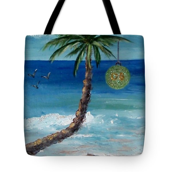 Tote Bag featuring the painting Christmas 2008 by Jamie Frier