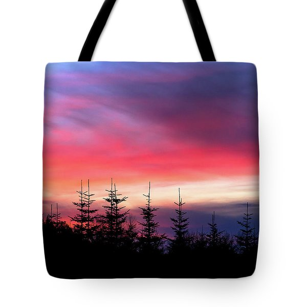 Christmas 2016 Sunset Tote Bag