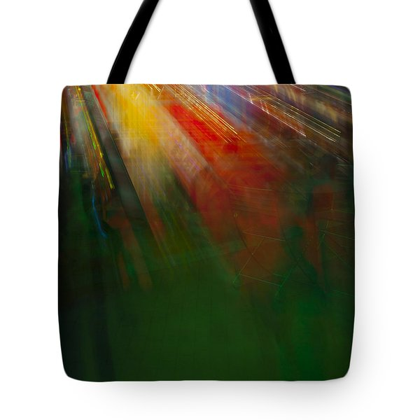 Christmas Abstract Tote Bag
