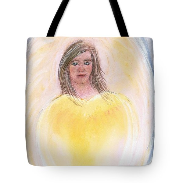 Christmas Angel Tote Bag