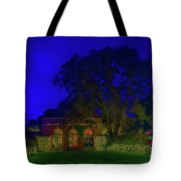 Christmas At Filoli Tote Bag