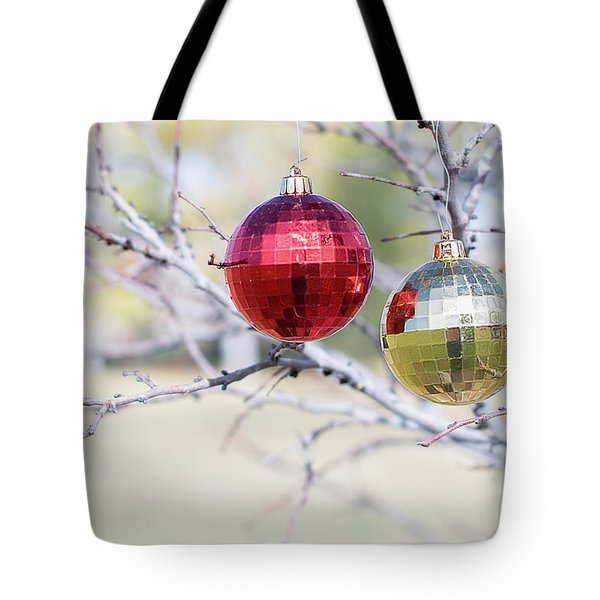 Christmas At The Park Tote Bag