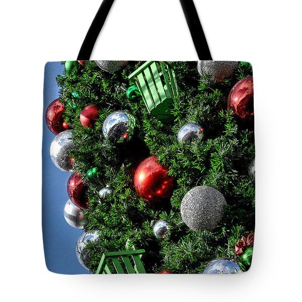 Christmas Balls Tote Bag