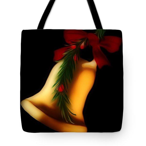 Christmas Bell Tote Bag