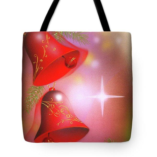 Christmas Bells Tote Bag