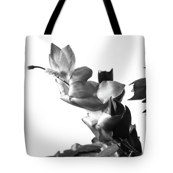 Christmas Cactus Tote Bag by Ed Cilley