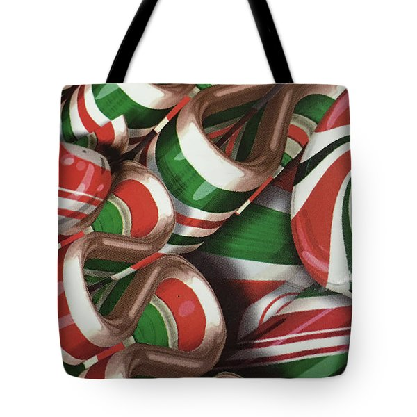 Christmas Candy No. 1 Tote Bag