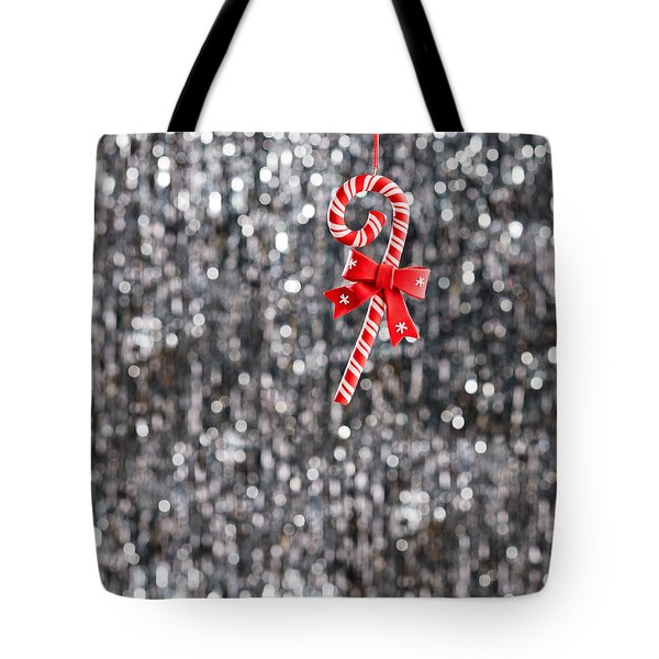 Tote Bag featuring the photograph Christmas Candy  by Ulrich Schade