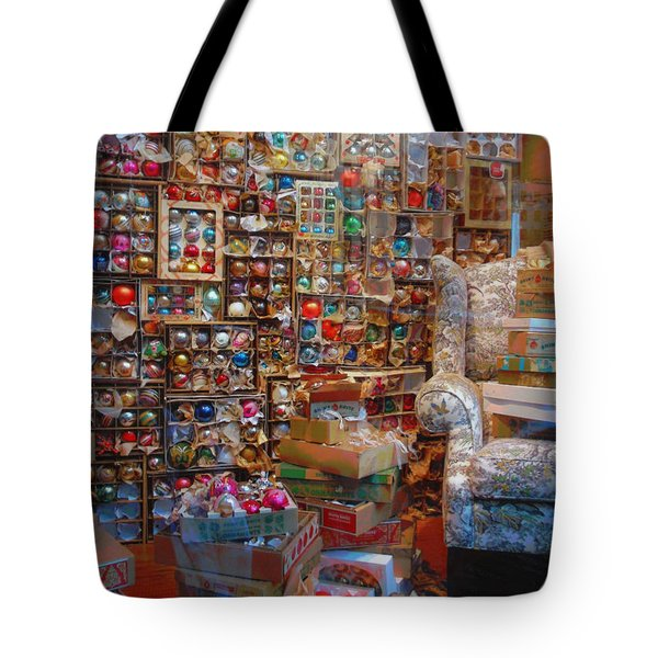 Christmas Chaos Tote Bag by JAMART Photography