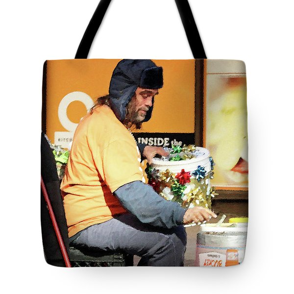 Tote Bag featuring the photograph Christmas Cheer by Joe Jake Pratt