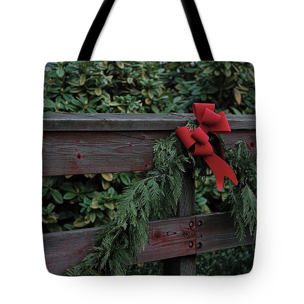 Christmas Colors Tote Bag