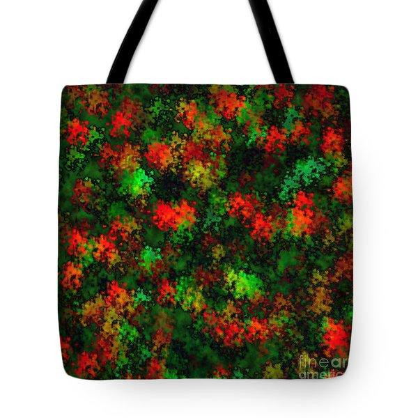Christmas Colors Tote Bag