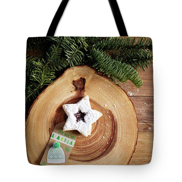 Tote Bag featuring the photograph Christmas Cookies by Rebecca Cozart