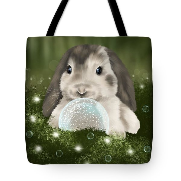 Tote Bag featuring the painting Christmas Decoration  by Veronica Minozzi