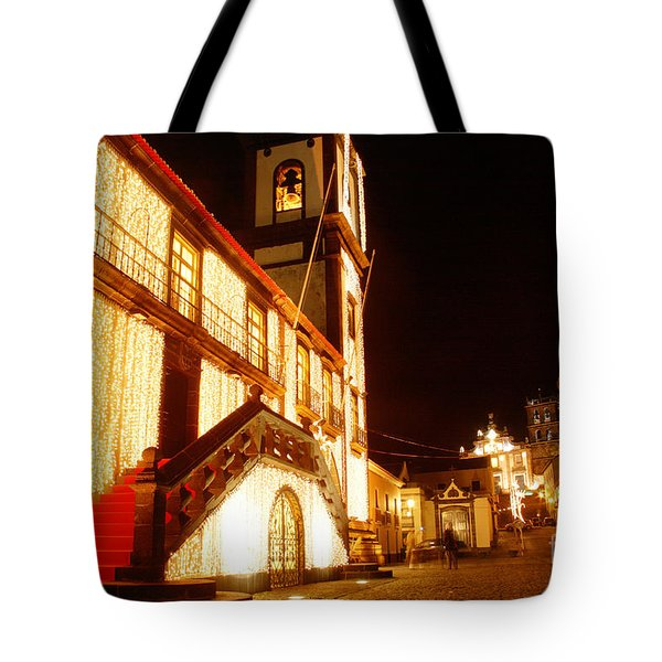 Christmas Decorations Tote Bag by Gaspar Avila