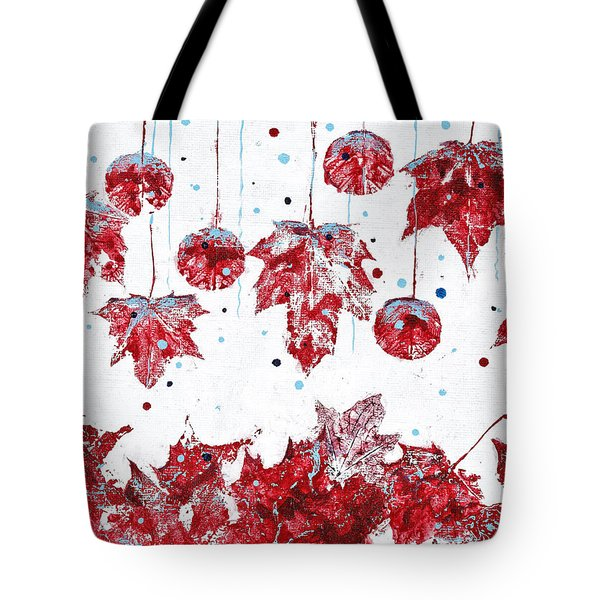 Christmas Decorations Of Nature Tote Bag