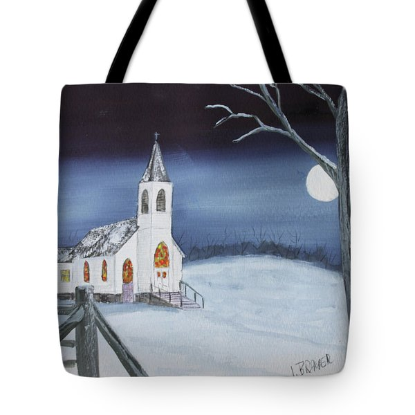 Christmas Eve Tote Bag by Jack G Brauer