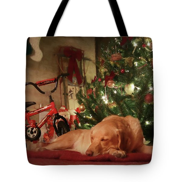 Tote Bag featuring the photograph Christmas Eve by Lori Deiter