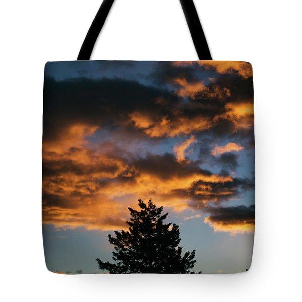 Christmas Eve Sunrise 2016 Tote Bag
