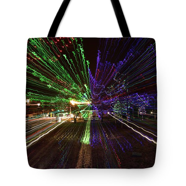 Christmas Exploding Tote Bag