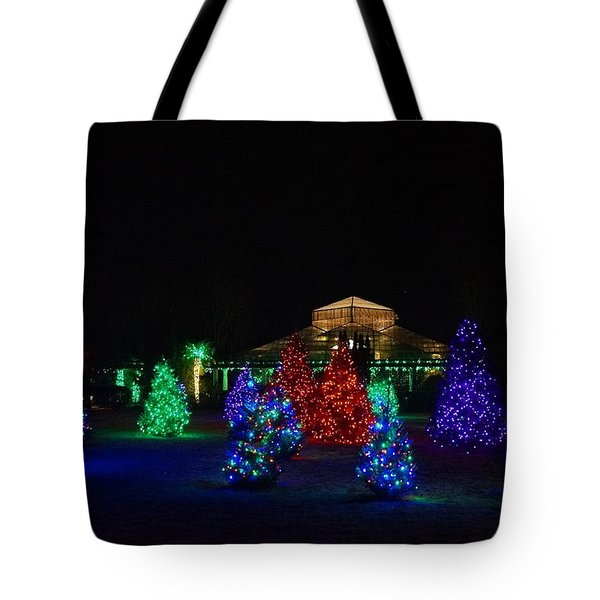 Christmas Garden 7 Tote Bag