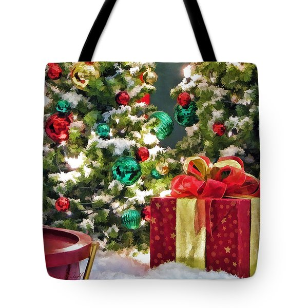 Christmas Gift Tote Bag by Christopher Arndt