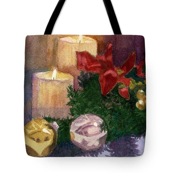 Christmas Glow Tote Bag