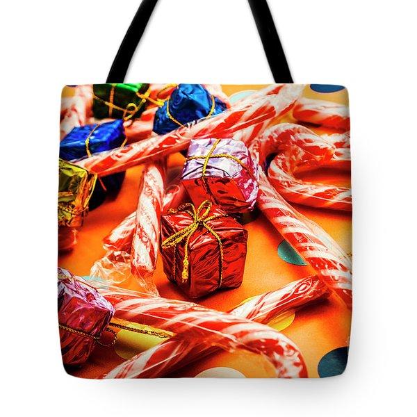 Christmas Holiday Background Tote Bag