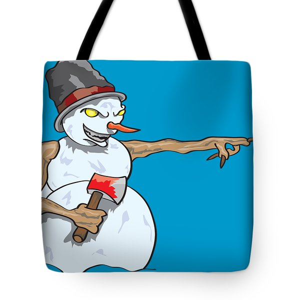 Christmas Horror Nightmares Tote Bag