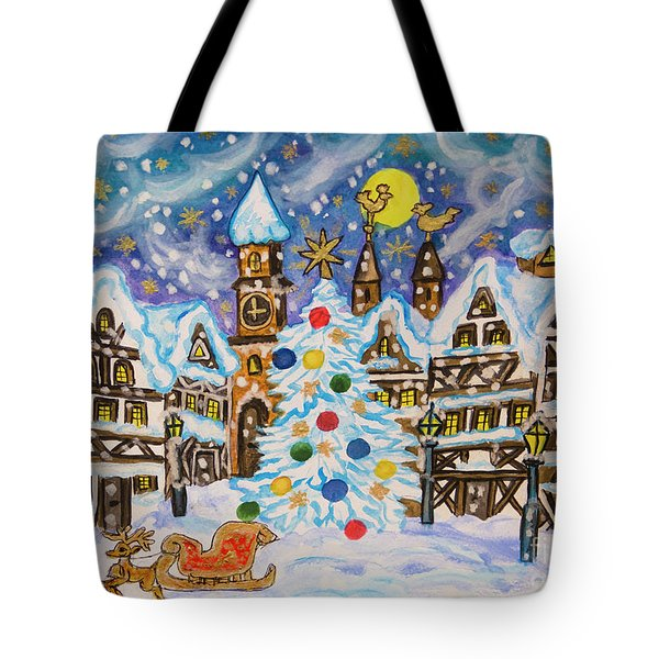 Christmas In Europe Tote Bag