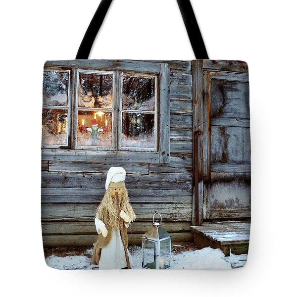 christmas in Scandinavia Tote Bag