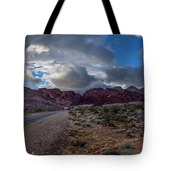 Christmas In The Desert Tote Bag